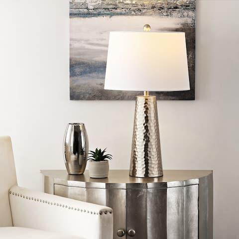 "SAFAVIEH Lighting 30-inch Batul Iron Table Lamp - 15"" x 15"" x 30"""