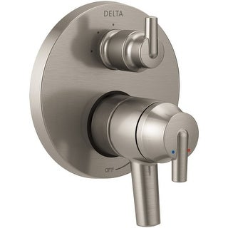 Delta T27859 Trinsic Monitor 17 Series Dual Function Pressure Balanced Valve Trim with Integrated Volume Control and 3 Function