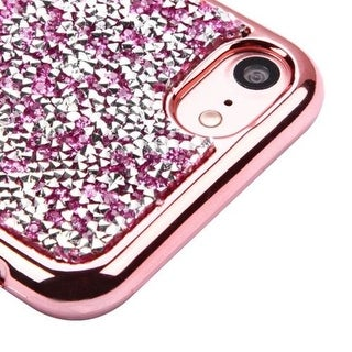 Insten Hard Snap-on Diamond Bling Case Cover For Apple iPhone 7