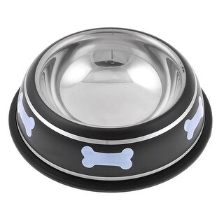 """4.9"""" Inner Dia Anti Skid Pet Dog Bowl Food Water Container Holder"""