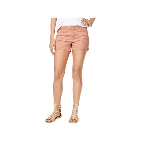 Vanilla Star Womens Casual Shorts Twill Midi - 13