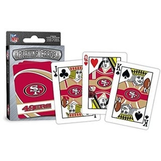 Master Pieces: Masterpieces San Francisco 49Ers Playing Cards - Masterpieces San Francisco 49Ers Playing Cards