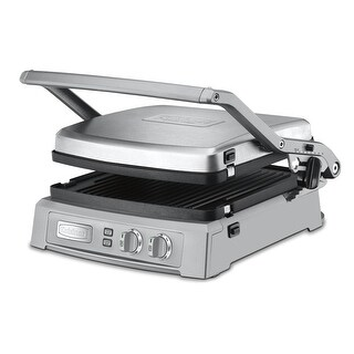Link to Cuisinart GR-150 Griddler Deluxe (Brushed Stainless) Similar Items in Kitchen Appliances