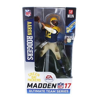 Green Bay Packers Aaron Rodgers Madden NFL 17 Ultimate Team Series 2 Figure - multi
