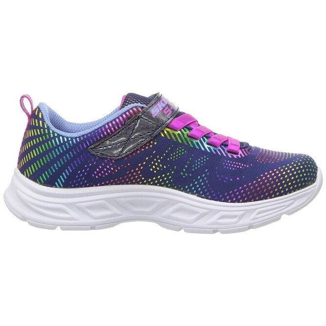Kids Skechers Girls Gleam N' Dream Low Top Running Sneaker