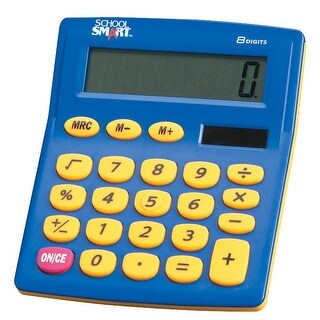 School Smart Primary Calculator, 4 x 5-1/2 in
