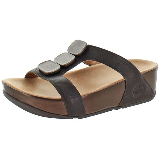 ee274bccecb006 Shop FitFlop Women s Pietra II Casual Stone Slide Sandals - Free Shipping  On Orders Over  45 - Overstock - 17569911