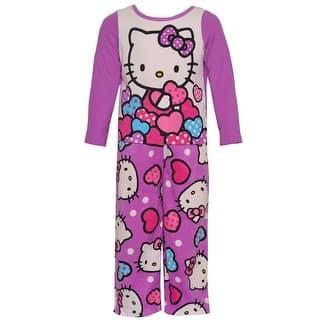 Hello Kitty Little Girls Purple Cartoon Character Print 2 Pc Pajama Set|https://ak1.ostkcdn.com/images/products/is/images/direct/9e415e706af4dd314e23834371d26638b4c1adf2/Hello-Kitty-Little-Girls-Purple-Cartoon-Character-Print-2-Pc-Pajama-Set-2-4T.jpg?impolicy=medium