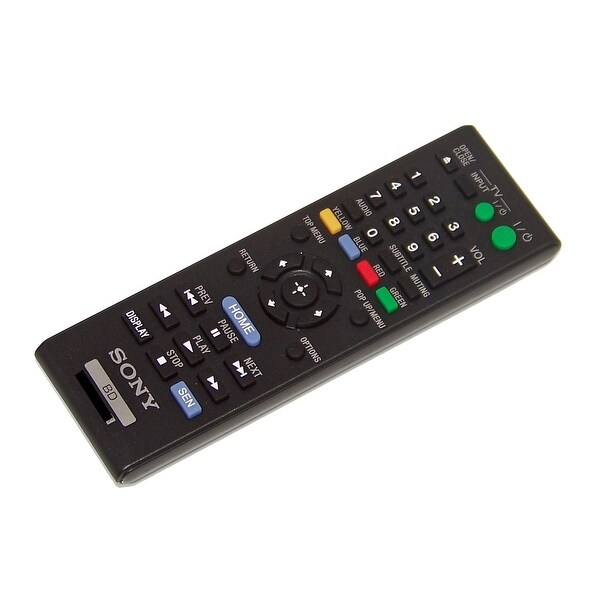 OEM Sony Remote Control Originally Shipped With: BDPS390, BDP-S390, BDPS490, BDP-S490, BDPS5100, BDP-S5100