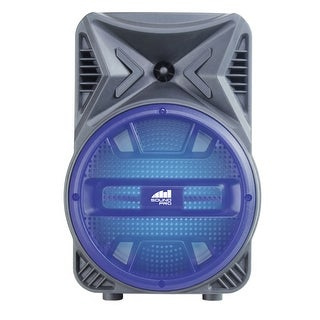"""Portable 8"""" Bluetooth® Party Speaker with Disco Light"""