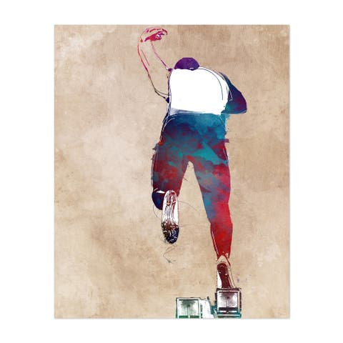 Fashion Sports Street Art Urban Unframed Wall Art Print/Poster