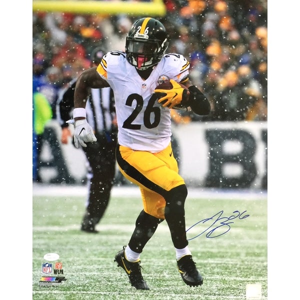 Shop Le Veon Bell Signed 16x20 Pittsburgh Steelers Snow Run Photo JSA -  Free Shipping Today - - 22253245 8804a34a7