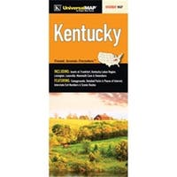 Universal Map 10617 Kentucky State Fold Map