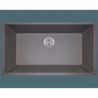 Polaris P848S Large Single Bowl Undermount AstraGranite Kitchen Sink