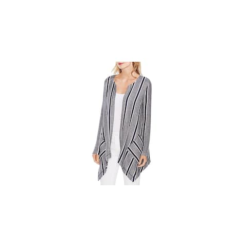 Vince Camuto Womens Cardigan Sweater Duster Long - Classic Navy