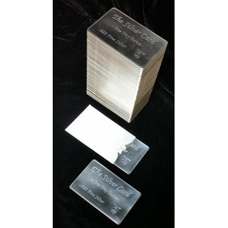 The Silver Card 10 pack