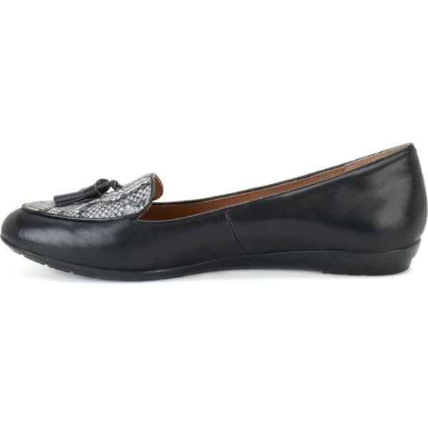 Sofft Womens Bryce Leather Almond Toe Loafers - 7