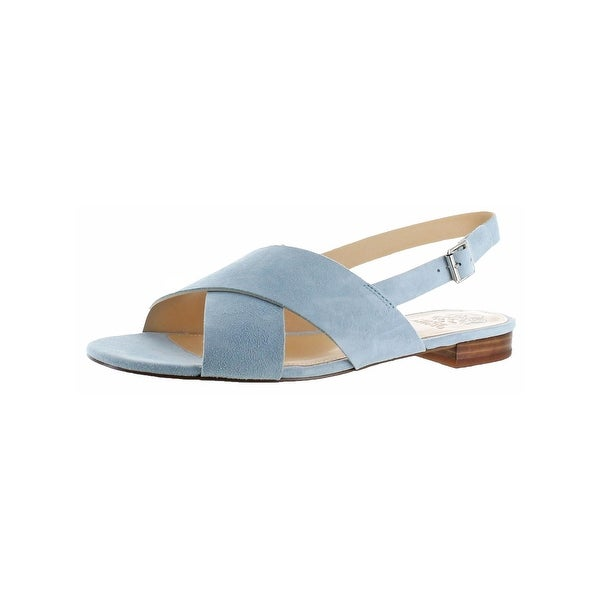 Vince Camuto Womens Harran Slingback Sandals Open Toe Criss-Cross