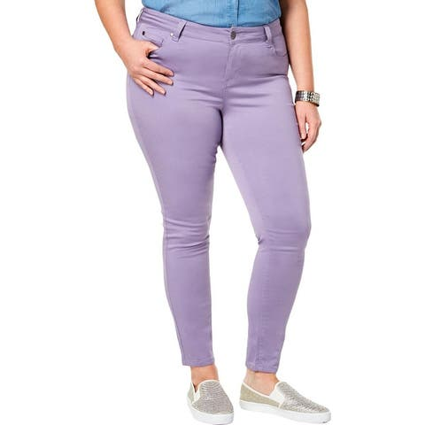 Celebrity Pink Womens Plus Jayden Skinny Jeans Denim Colored