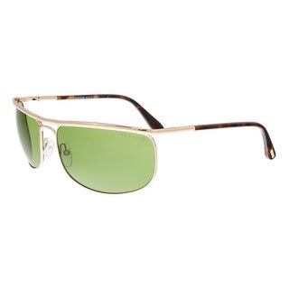 Tom Ford FT0418 28N RYDER Gold Rectangular Sunglasses