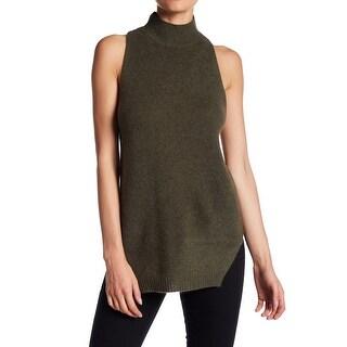 360 Cashmere NEW Green Womens Size Medium M Logan Cashmere Tank Top