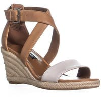 Nine West JorgaPeach Espadrilles Sandals, Dark Natural/Off White