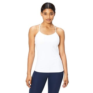 Link to Core 10 Women's Yoga Fitted Support Tank, white, X-Small - 2 Similar Items in Costumes