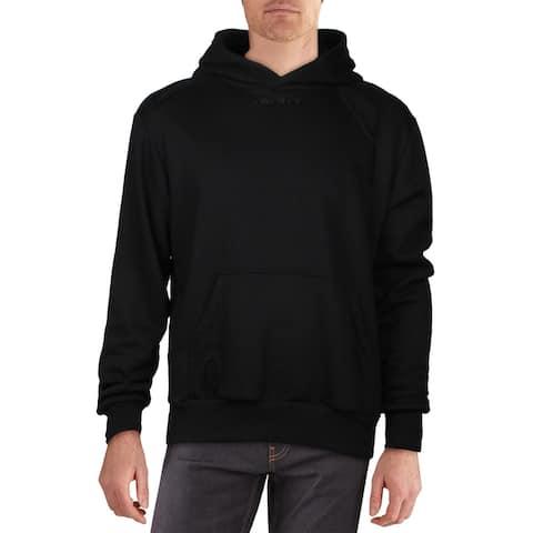 Twenty Mens Hoodie Cozy Comfy - Black
