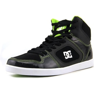 DC Shoes Union High Round Toe Canvas Skate Shoe
