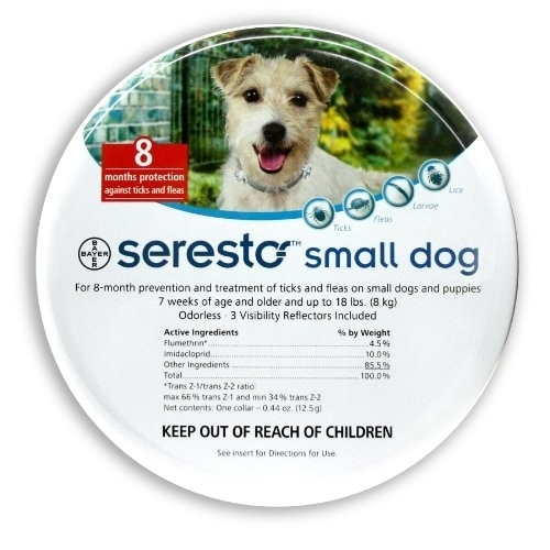 Shop Bayer Seresto Small Dog Collar 8 Months Free Shipping Today