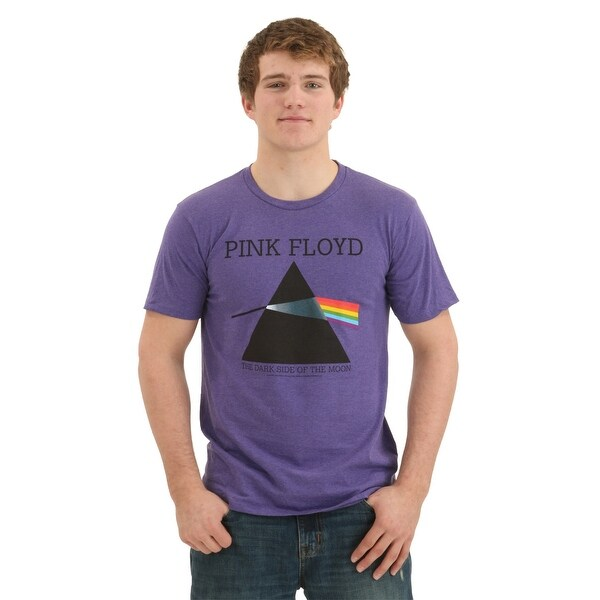 Pink Floyd Darkside of the Moon Heather Purple T-Shirt