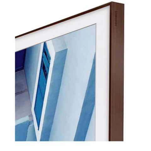 Samsung 65 inch The Frame Customizable Bezel - Brown 65 Inch Bezel