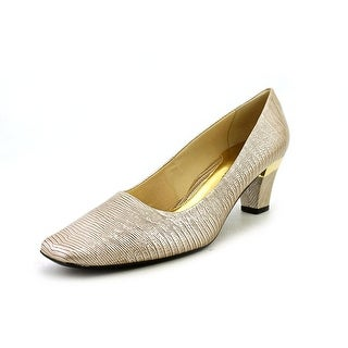 J. Renee Mary  W Square Toe Synthetic  Heels