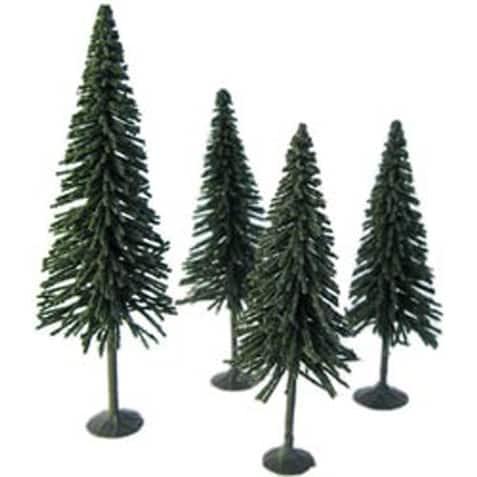 """Pine Tree 3.5"""" To 5"""" 4/Pkg-"""