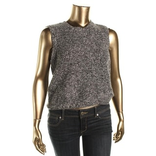 Lauren Ralph Lauren Womens Marled Cashmere Blend Sweater Vest - XL
