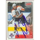 Marcus Nilson Florida Panthers 2001 Upper Deck Victory Autographed Card This item comes with a cer