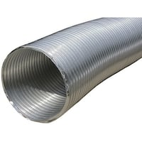 """Builders Best 110412 Semi-Rigid Aluminum Duct, 8Ft (10"""" Dia)"""