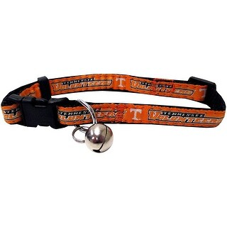 Collegiate Tennessee Volunteers Cat Collar