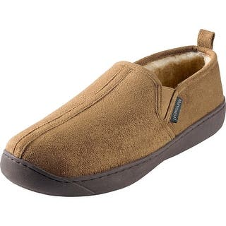 Legendary Whitetails Men s Daybreak Casual Slip On Shoes   Bark. Men s Slippers For Less   Overstock com
