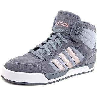 Adidas Raleigh Mid Women Round Toe Suede Gray Sneakers