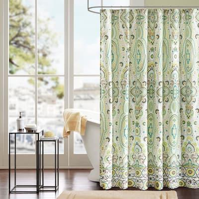 Ellie Shower Curtain by Intelligent Design