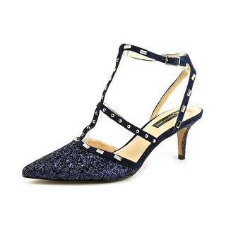 INC International Concepts Womens carma Pointed Toe Ankle Strap Classic Pumps