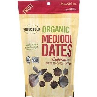 Woodstock Farms - Organic Medjool Dates With Pits ( 8 - 12 OZ)