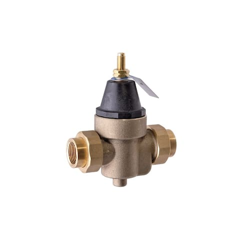 Watts 0009479 Water Pressure Reducing Valve with Bypass Feature -