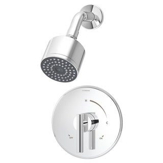 Symmons 3501-CYL-B-1.5-TRM Dia Shower Trim Only Package with Single Function Sho
