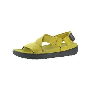 Fitflop Mens Sling M Slingback Sandals Cushioned Criss Cross - 11 medium (d)
