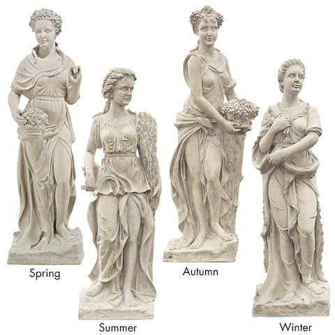 Set All Four Season Statues Frt-Nr