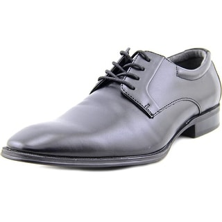 Alfani Andrew Men Round Toe Leather Black Oxford