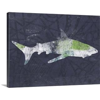 """""""Shark II"""" Canvas Wall Art"""