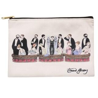Women's Edward Gorey Printed Zipper Pouch - Metropolitan Opera - One size